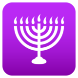 Menorah on JoyPixels 6.5
