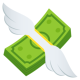 Money with Wings on JoyPixels 6.5
