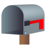 Open Mailbox with Lowered Flag on JoyPixels 6.5