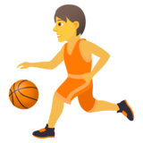 Person Bouncing Ball on JoyPixels 6.5