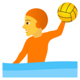 Person Playing Water Polo on JoyPixels 6.5
