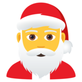 Santa Claus on JoyPixels 6.5
