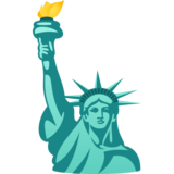Statue of Liberty on JoyPixels 6.5