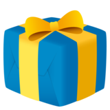 Wrapped Gift on JoyPixels 6.5