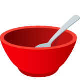 Bowl with Spoon on JoyPixels 6.6