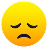 Disappointed Face on JoyPixels 6.6