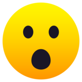 Face with Open Mouth on JoyPixels 6.6