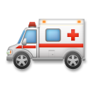 Ambulance on LG G3