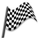 Chequered Flag on LG G3