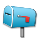 Closed Mailbox with Lowered Flag on LG G3