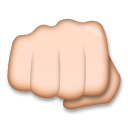 Oncoming Fist on LG G3