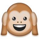 Hear-No-Evil Monkey on LG G3