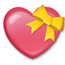 Heart With Ribbon on LG G3
