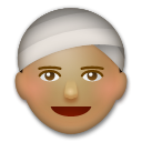 Person Wearing Turban on LG G3