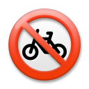No Bicycles on LG G3
