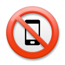 No Mobile Phones on LG G3