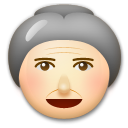 Old Woman on LG G3