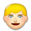 Person: Blond Hair on LG G3