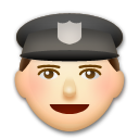 Police Officer on LG G3