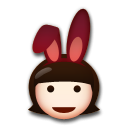 People With Bunny Ears on LG G3