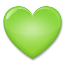 Green Heart on LG G4