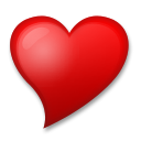 Heart with Tip On the Left on LG G4