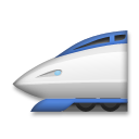 High-Speed Train on LG G4