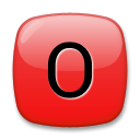 O Button (Blood Type) on LG G4