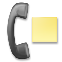 Telephone Receiver with Page on LG G4