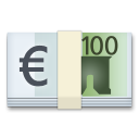 Euro Banknote on LG G5