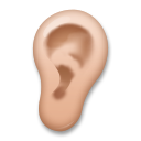Ear: Medium Skin Tone on LG G5