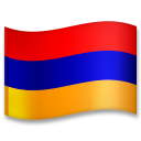 Flag: Armenia on LG G5