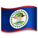 Flag: Belize on LG G5