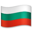 Flag: Bulgaria on LG G5