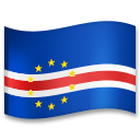 Flag: Cape Verde on LG G5