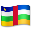 Flag: Central African Republic on LG G5