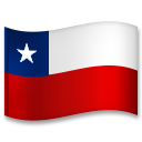 Flag: Chile on LG G5