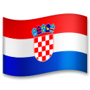 Flag: Croatia on LG G5