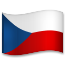 Flag: Czechia on LG G5