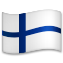 Flag: Finland on LG G5