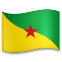 Flag: French Guiana on LG G5
