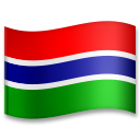 Flag: Gambia on LG G5