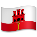 Flag: Gibraltar on LG G5