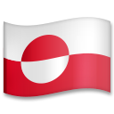 Flag: Greenland on LG G5