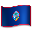 Flag: Guam on LG G5