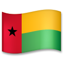 Flag: Guinea-Bissau on LG G5
