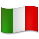 Flag: Italy on LG G5