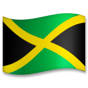 Flag: Jamaica on LG G5