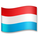 Flag: Luxembourg on LG G5