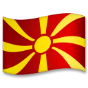 Flag: North Macedonia on LG G5